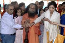 Snapshot: Shilpa Shetty at the Maha Kumbh Mela