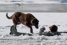 Snapshot: Man falls into frozen Colorado river