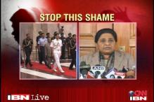 Mayawati calls for President rule in UP