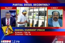 Oil cos have liberty to make small changes in diesel prices: Moily