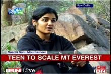 19-year-old girl selected for expedition to Mount Everest
