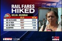 Railway fare hike gets mix reactions
