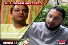Owaisi's arrest: MIM accuses Cong of maligning its image