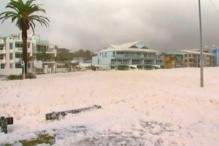 Viral: Foam fills Australian town during wild weather
