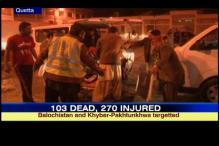 Pakistan: 103 dead, 270 injured in series of bomb blasts
