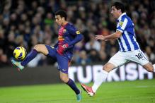 Pedro scores twice as Barcelona thrash Espanyol 4-0