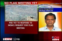 Pakistan yet to respond to India's flag meeting request