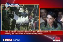 Dhoble disgracing police community, says Priya Dutt