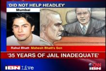 Headley should've got 35 rotting years in Indian prison: Rahul Bhatt