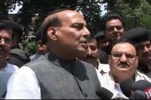 Live: BJP chief Rajnath Singh lashes out at Congress
