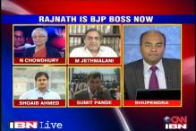 'Relieved Gadkari stepped down, Rajnath best man to lead'