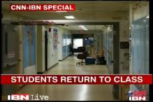 Connecticut shootout: Students return to Newton school