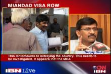 Granting Miandad visa an act of treason: Sanjay Raut