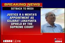 SC upholds appointment of Justice Mehta as Guj Lokayukta