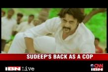Southwrap: Actor Sudeep dons a police uniform once again