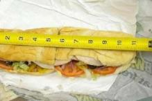 Sacrilege! Subway's 'footlong' found inch shorter