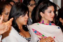 Spotted: Sunny Leone, Ekta Kapoor seek Siddhivinayak's blessings ahead of 'Ragini MMS 2'