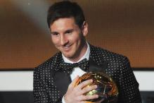 Messi wins the FIFA Ballon d'Or for the 4th successive year