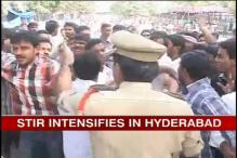 Telangana turmoil: Angry protestors clash with police
