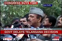 Centre delays decision on Telangana, seeks more time for 'consultation'