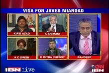 Should Javed Miandad have been given a visa?