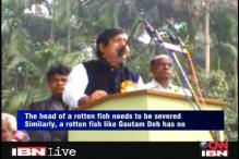 WB: TMC minister compares CPM leader to a rotten fish