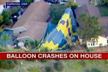 US: Hot air balloon holding wedding ceremony crash lands