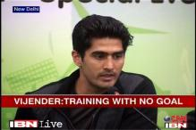 Boxers are training without any goal: Vijender Singh