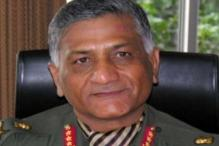 Naxalism on rise due to wrong policies: Gen VK Singh