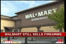 US: Protesters to demand Walmart to stop selling guns
