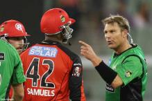 Samuels ruled out of Big Bash with injury