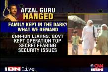 Govt's claims of having informed Afzal Guru's family under suspicion