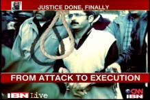 Events which led to execution of Afzal Guru