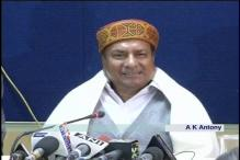 Chopper deal: Antony says no need for him to resign