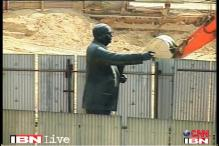 Bangalore: Dalits object to removal of Ambedkar statue from Metro site