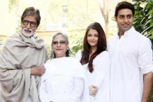 Big B in Bhopal with Aaradhya to shoot for 'Satyagraha'