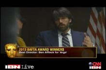 BAFTA Awards 2013: Ben Affleck's 'Argo' gets Best Film, Best Director