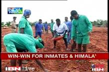 AP: Himalaya helps build jail inmates' herb farming skills