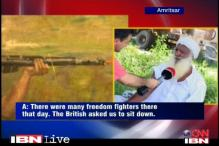 Watch: Jallianwala Bagh survivor recounts the incident