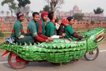 Snapshot: The super awesome 'Croco Bike'!