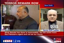 BJP demands sedition charge against Shinde