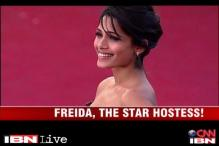 Bolly buzz: Pre-Oscar bash with Frieda Pinto