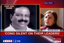Cong silent on leaders demeaning Suryanelli rape survivor: Brinda Karat