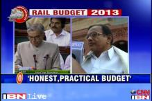Chidambaram hails railway budget, terms it 'honest' and 'practical'