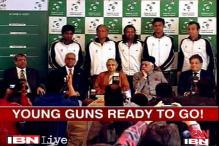 Young guns ready for Davis Cup