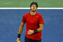 Del Potro beats Grigor Dimitrov in semi-finals