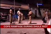 Dhule riot: 6 policemen arrested for indulging in vandalism