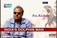 India's 'dolphin man' does his best to save the aquatic animal