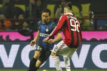 AC Milan held to a 1-1 draw by Inter in Milan derby
