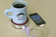Now, charge your cellphone with the power of a drink